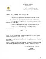 20-0601 ARRETE DU MAIRE ACCES SAMREV