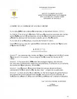 20-0701 ARRETE DU MAIRE SONNERIES DES CLOCHES